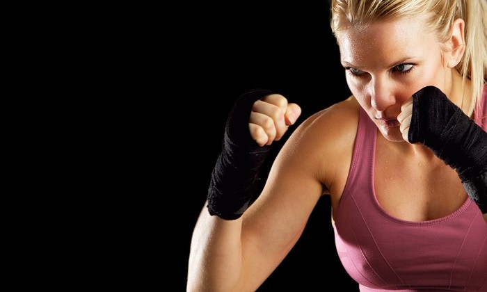 bootcamp defence woman